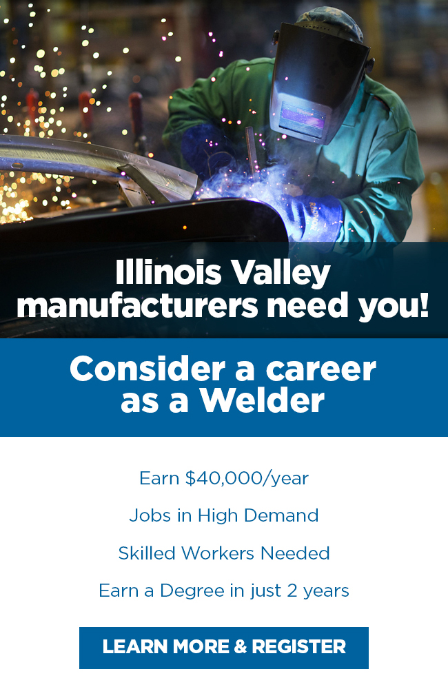 Consider a career in welding