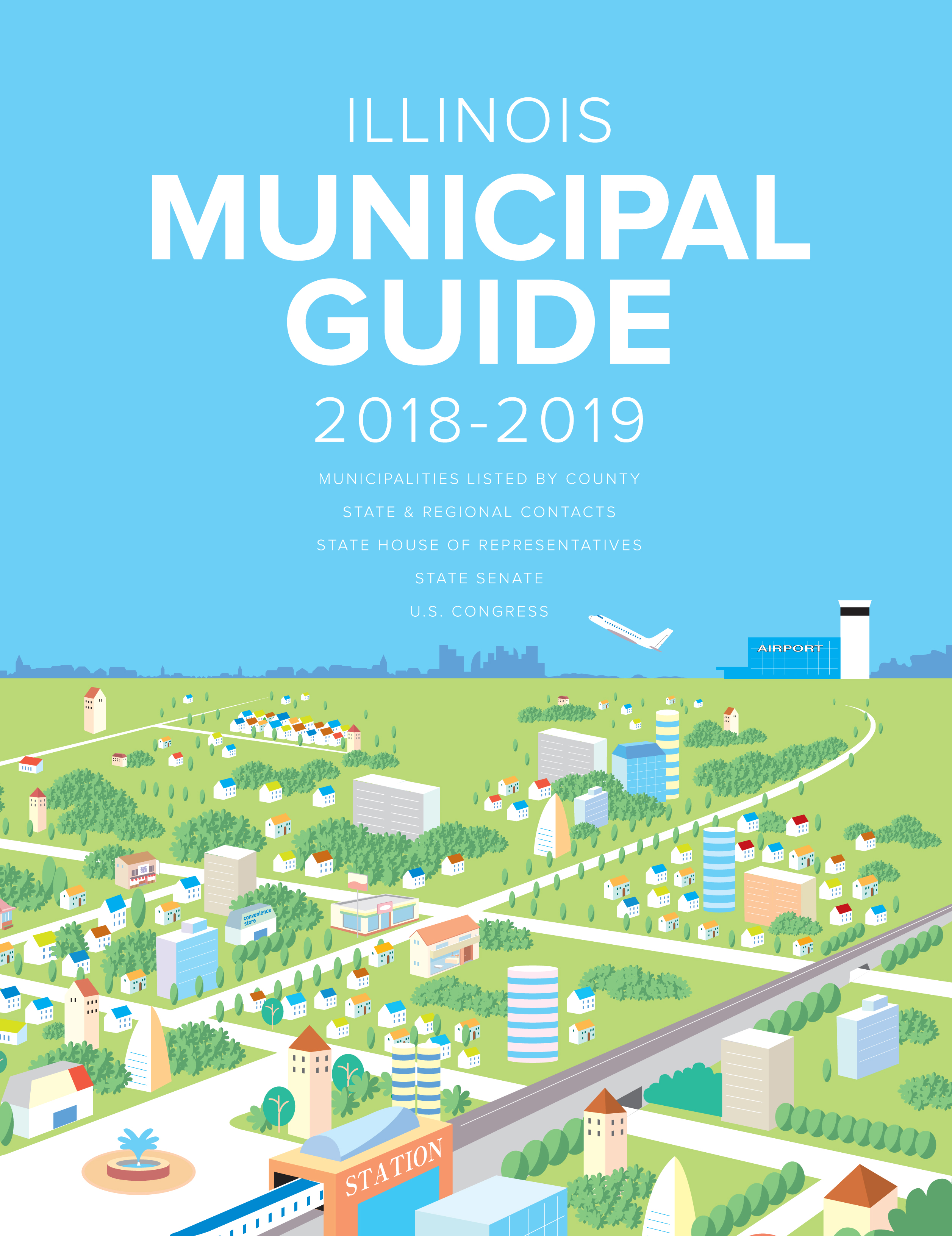 Illinois Municipal Guide cover