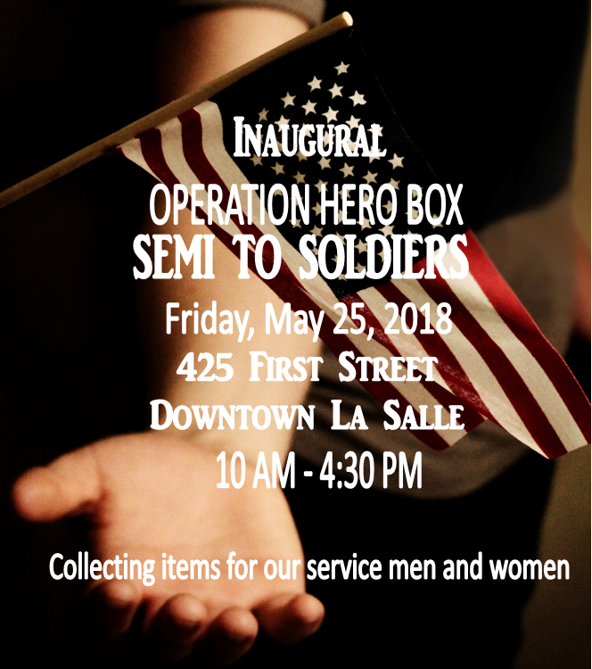 Semi to Soldier Event May 25th