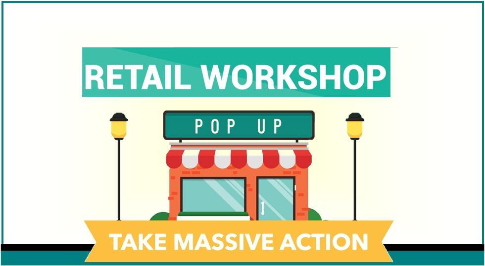 FREE Pop Up Retail Workshop