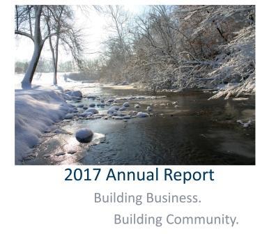Illinois Valley Economic Development Annual Report Cover photo