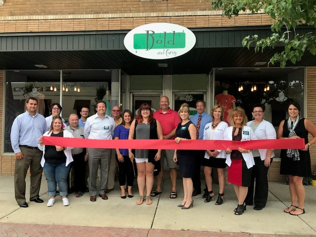 Bold and Curvy Ribbon Cutting