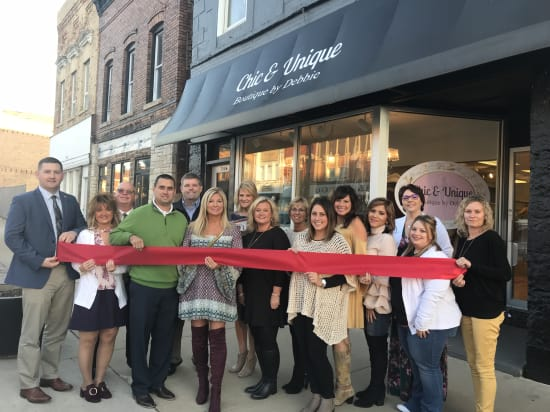 Chic and Unique Ribbon Cutting