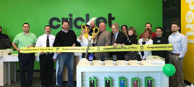 Cricket Wirelss Ribbon Cutting