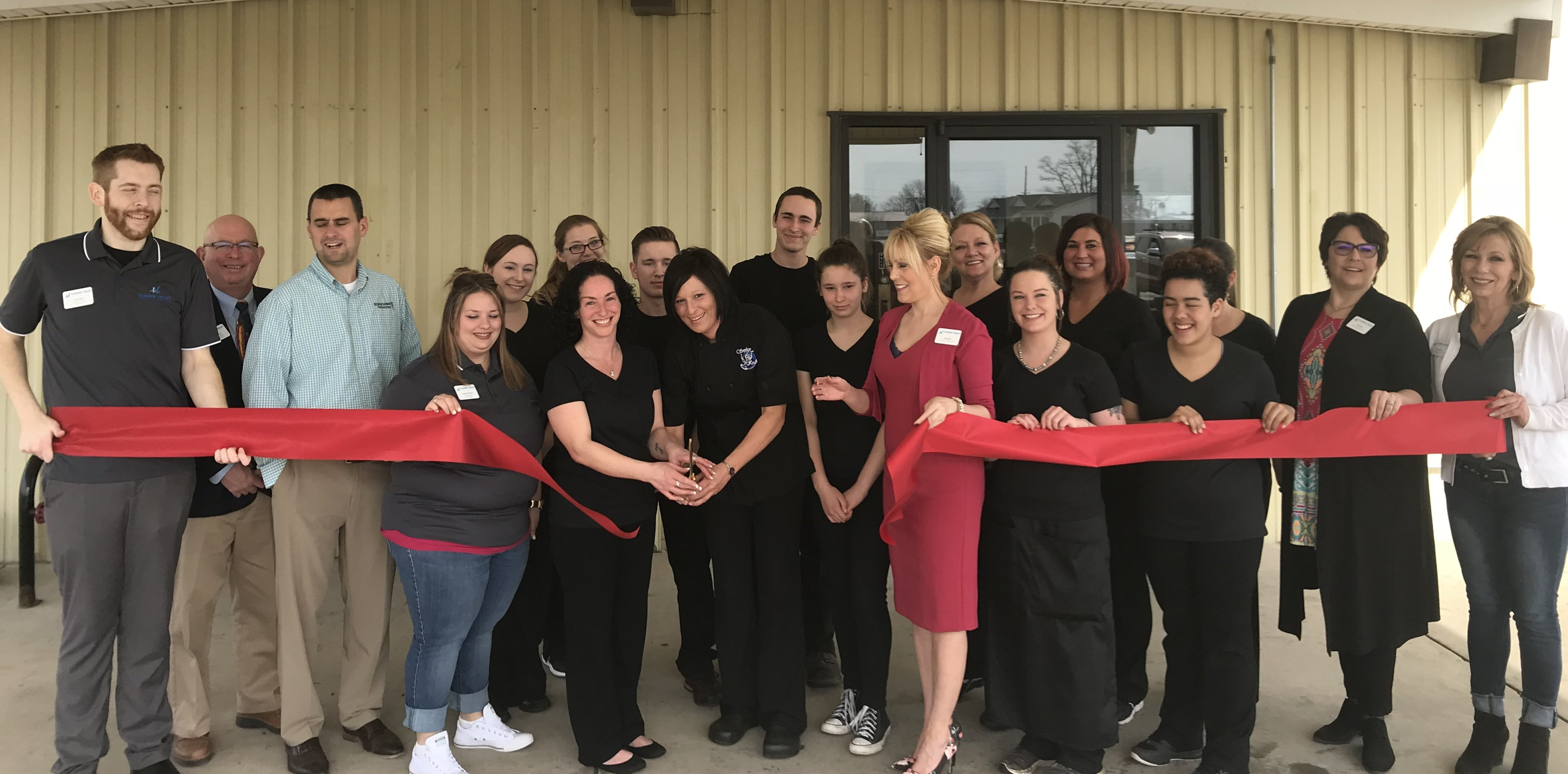 Simply Kracked Ribbon Cutting