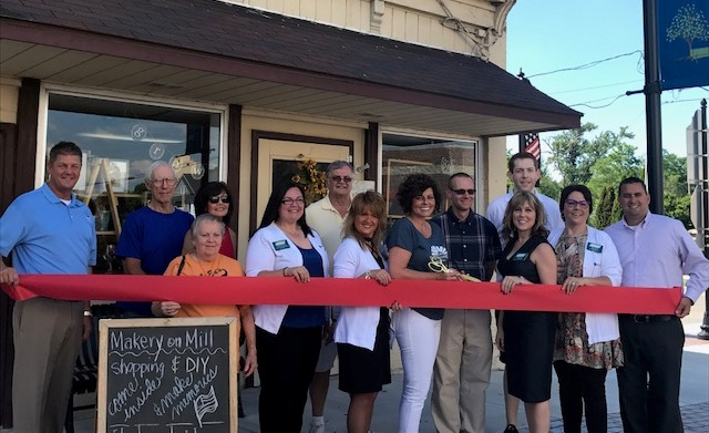 Makery on Mill Ribbon Cutting
