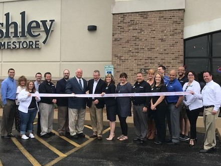 Ashley Home Store Ribbon Cutting