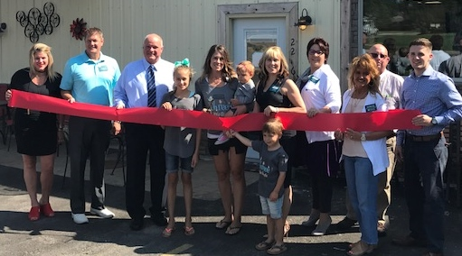Three Little Birds Ribbon Cutting