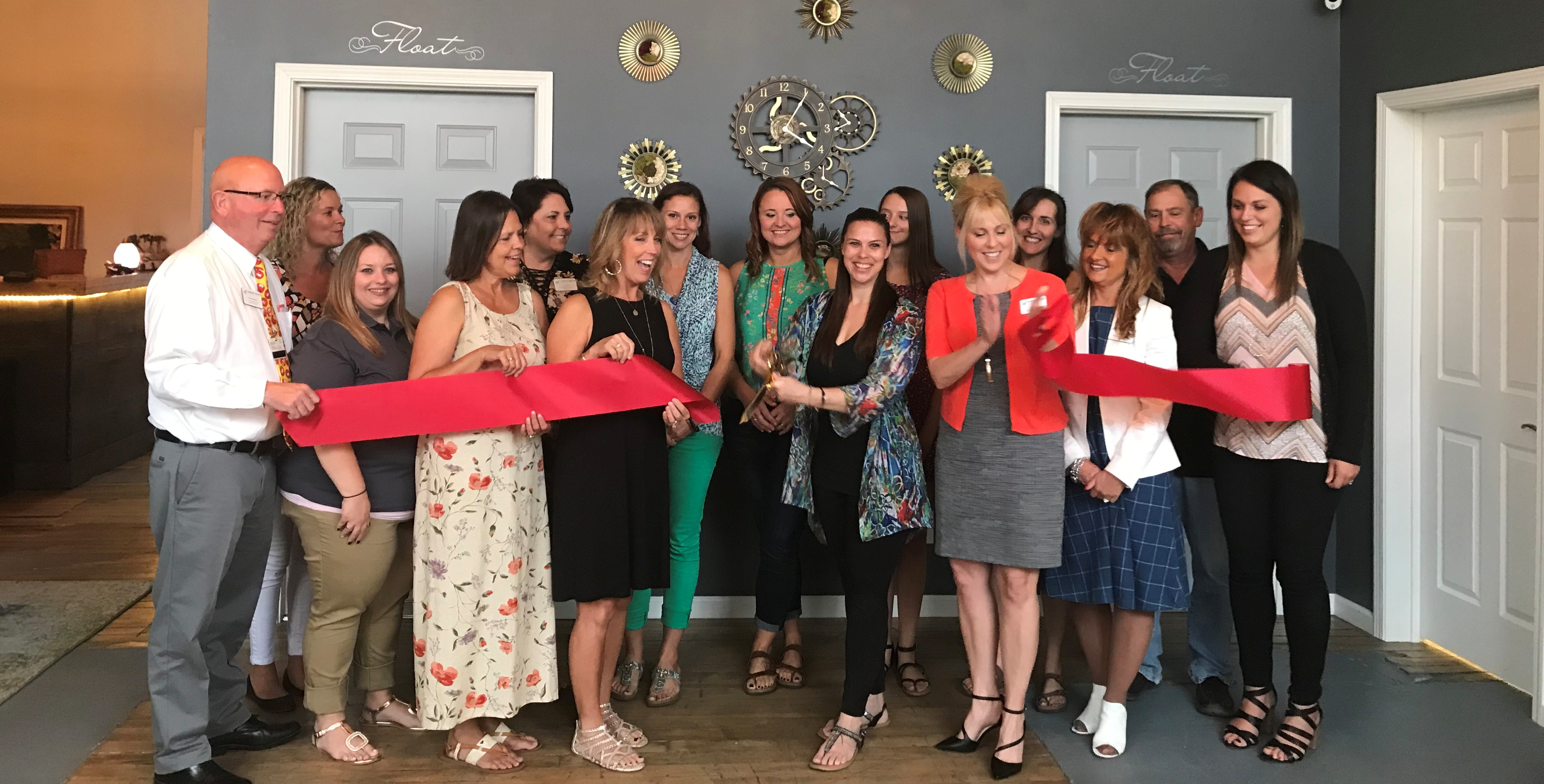 Unwind at Westclox Ribbon Cutting