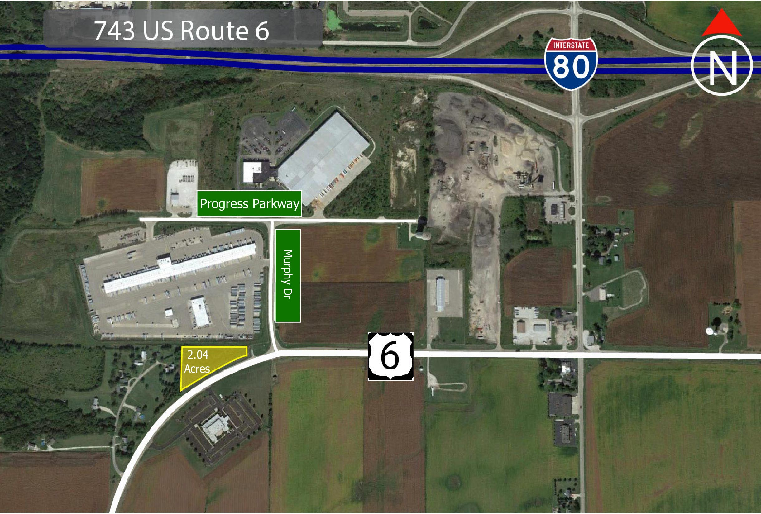 J743 US Route 6 Land for sale LaSalle, IL