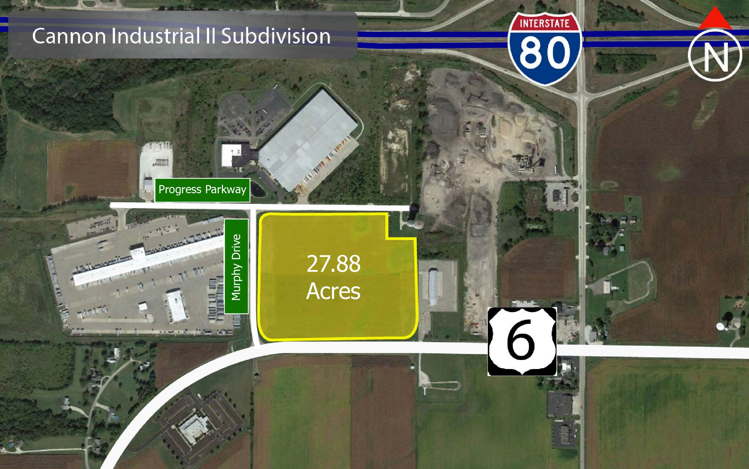 Cannon Industrial Land for sale LaSalle, IL