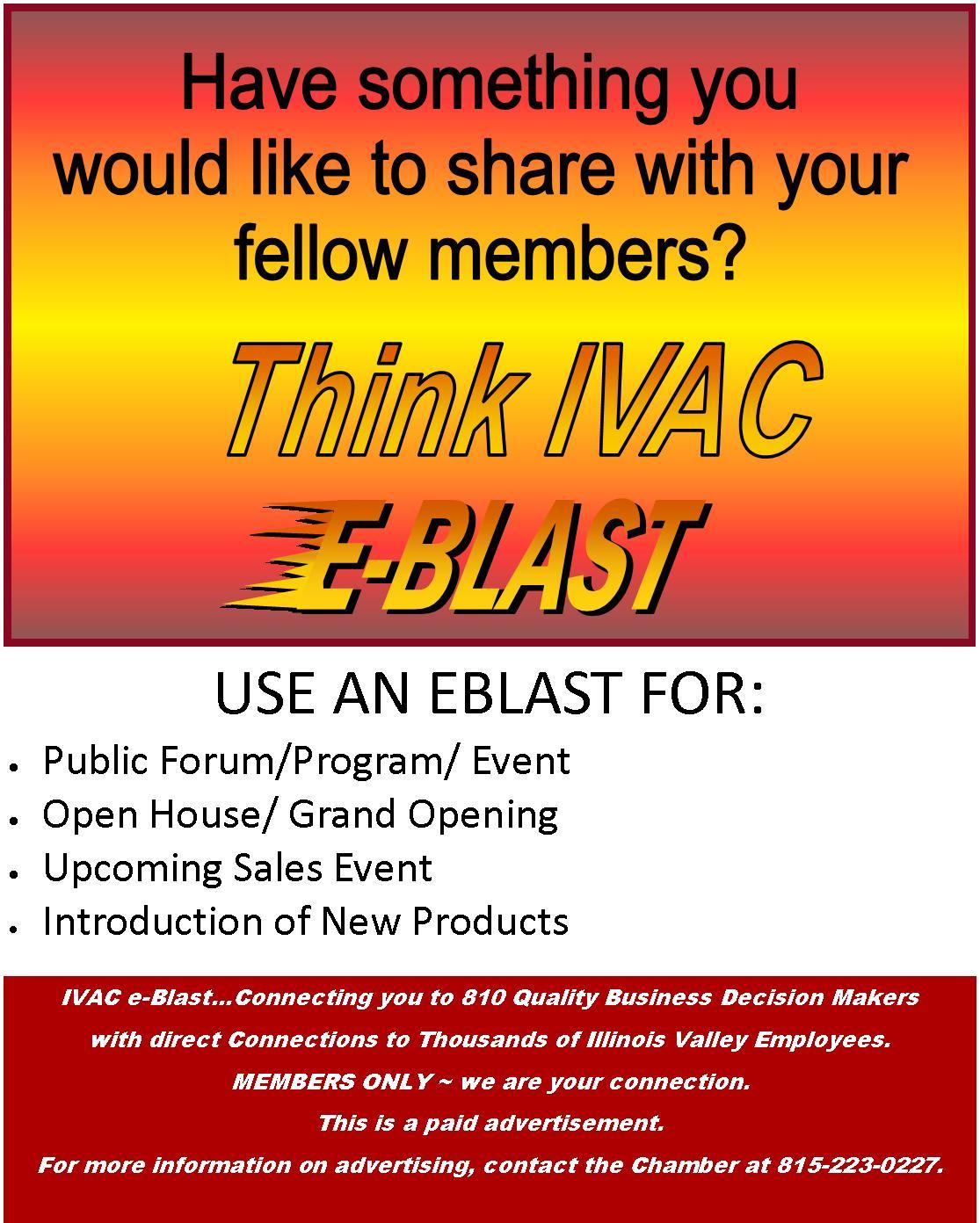 Member to Member eBlast information