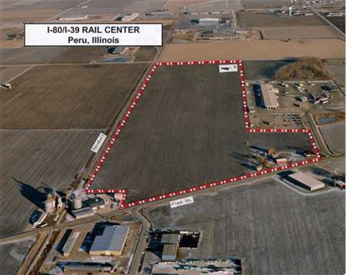 I-80/I-39 Rail Site