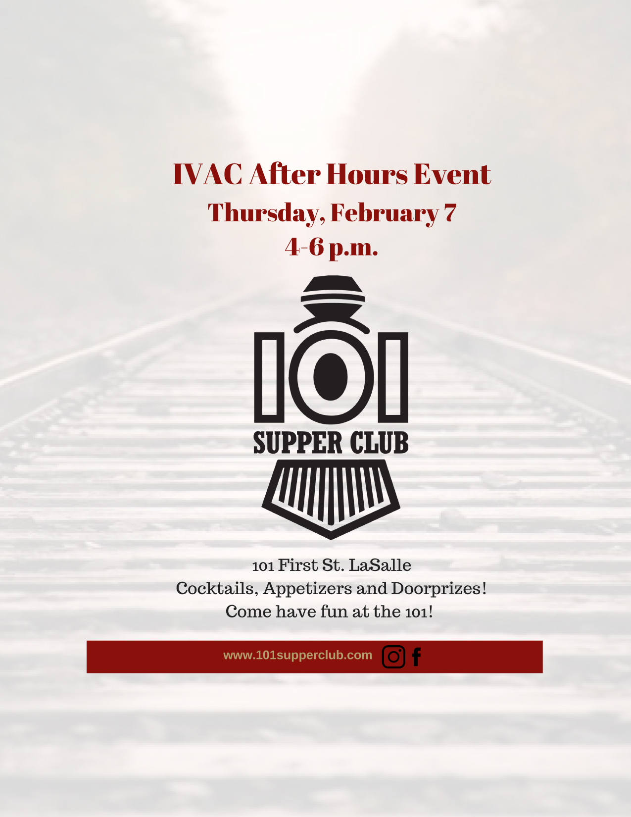 The 101 Supper Club after hour event