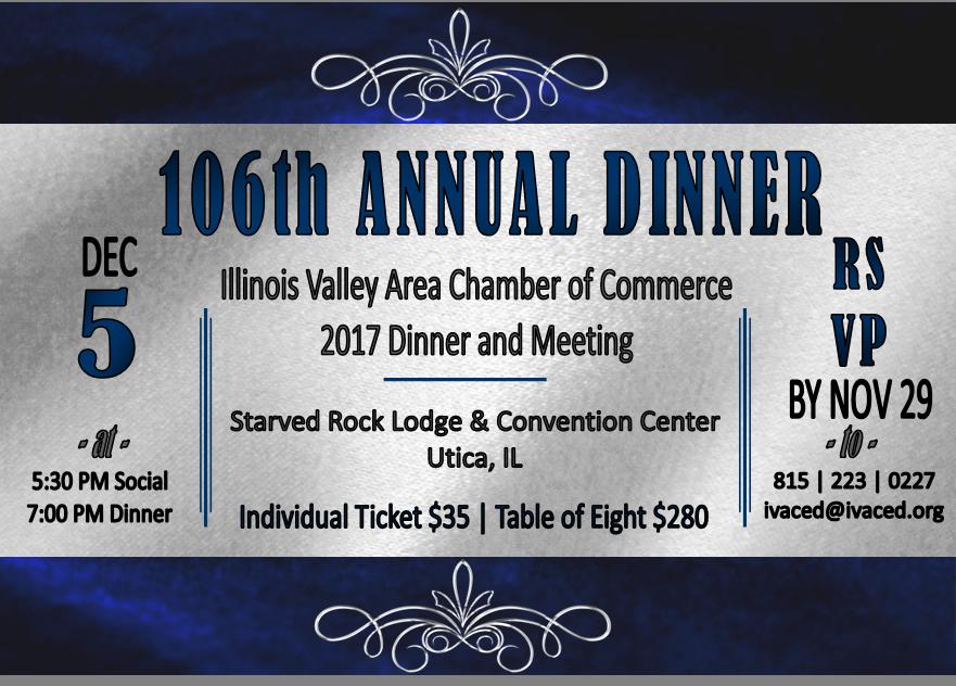106th Annual Dinner Invite