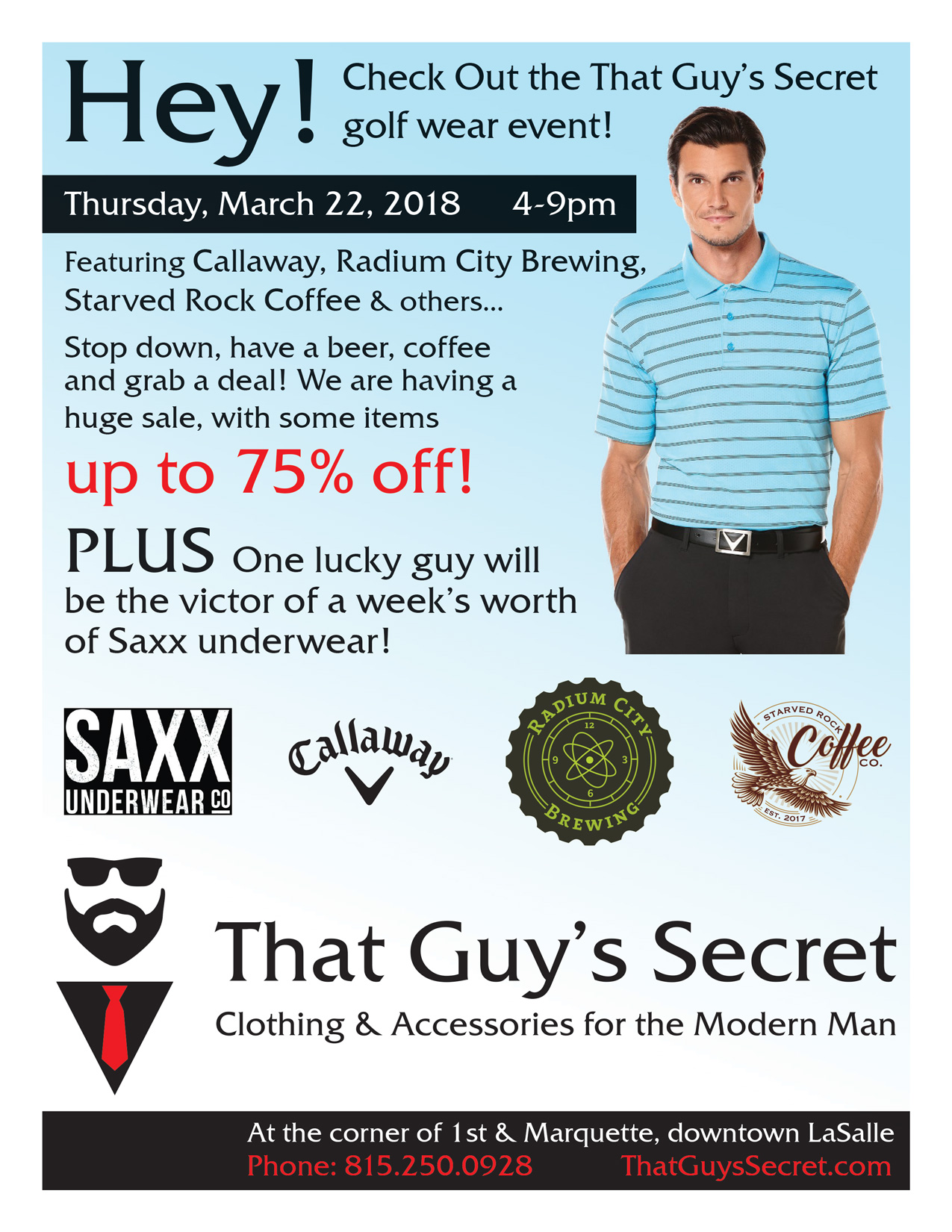 Golf Wear Event