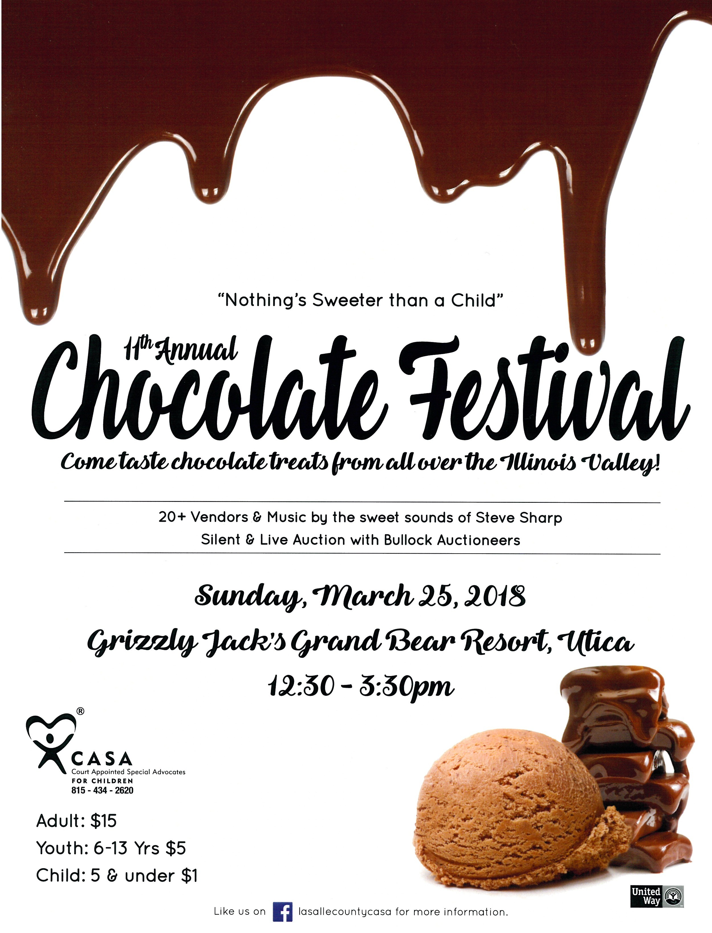 Chocolate Festival Flyer