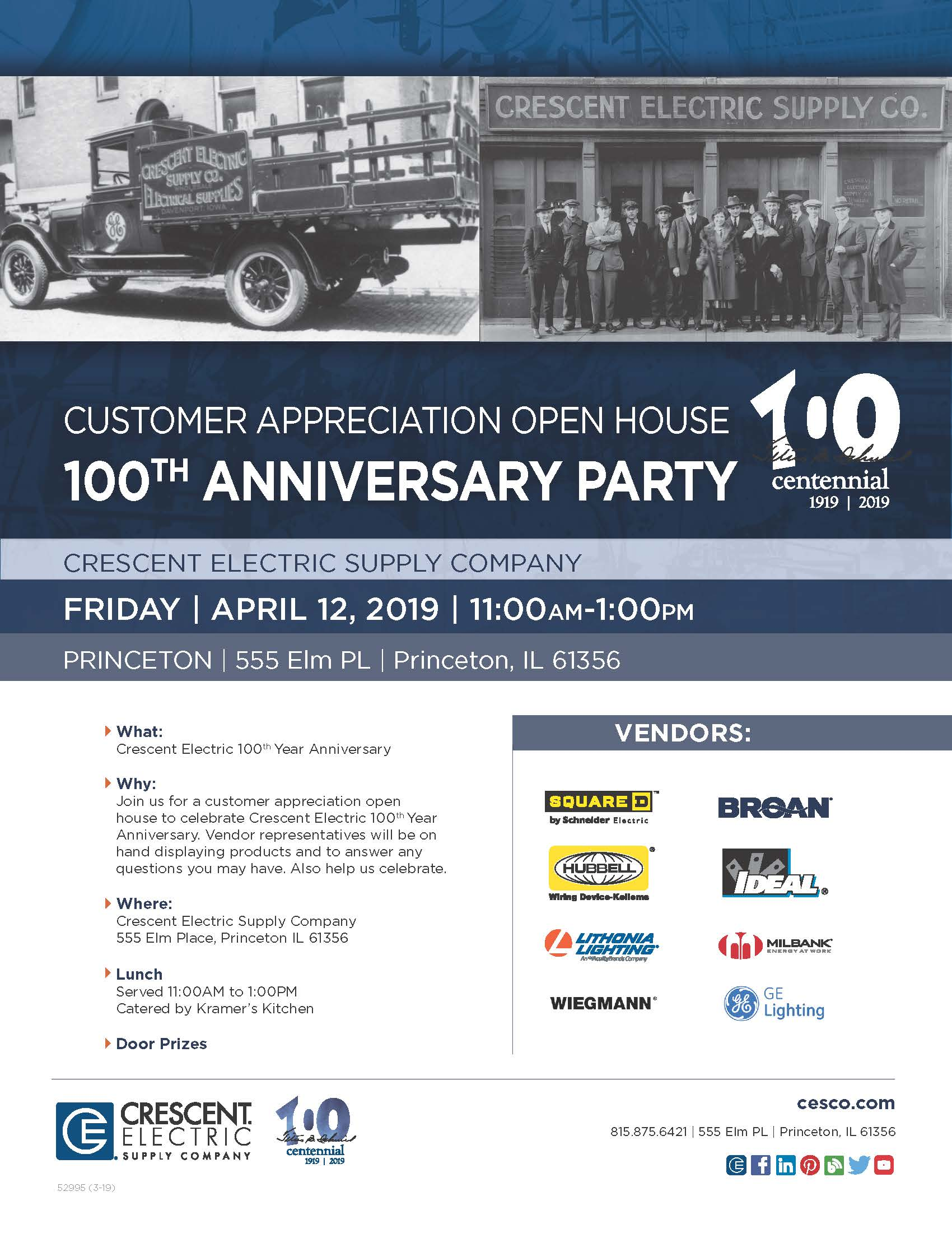 Crescent Electric Supply Company turns 100