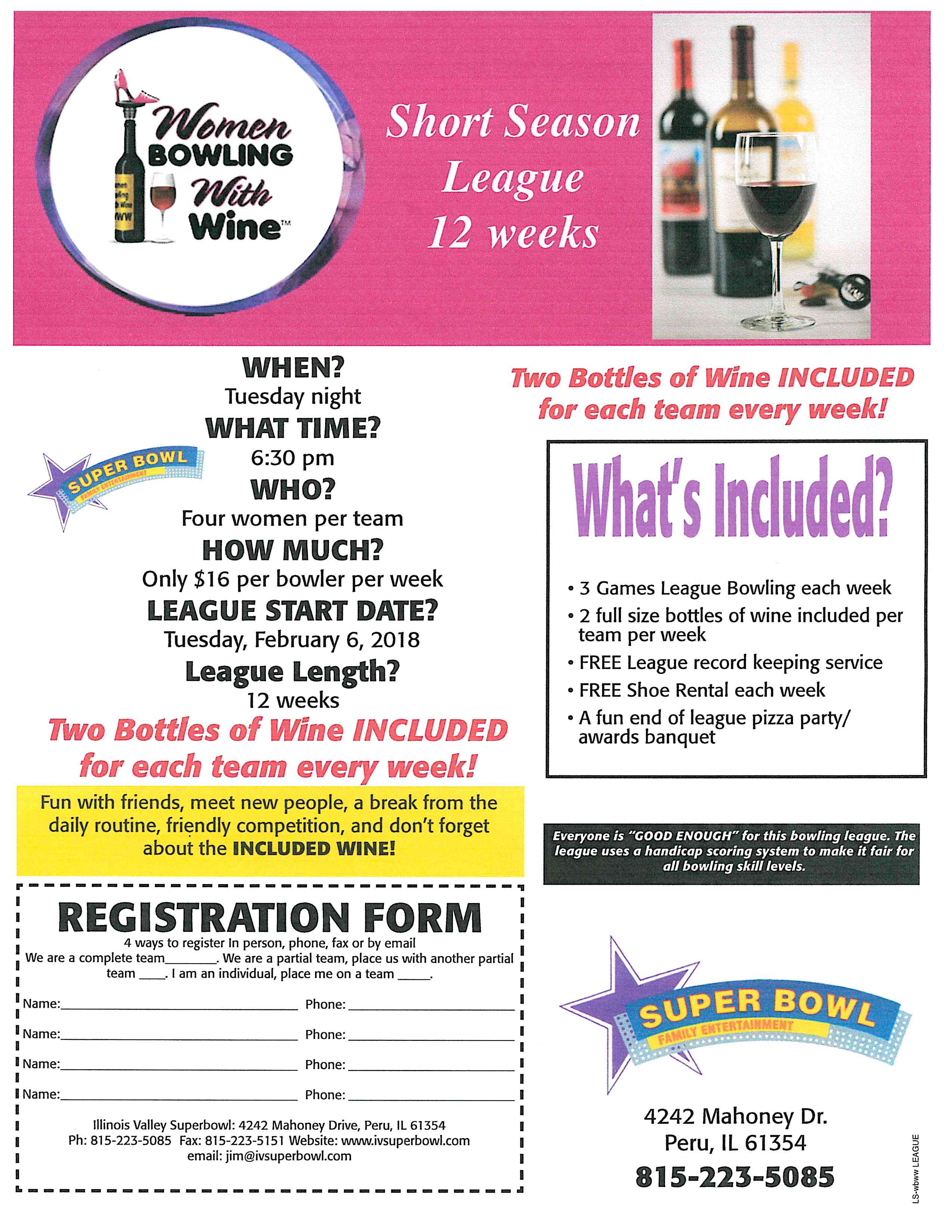 Women Bowling League