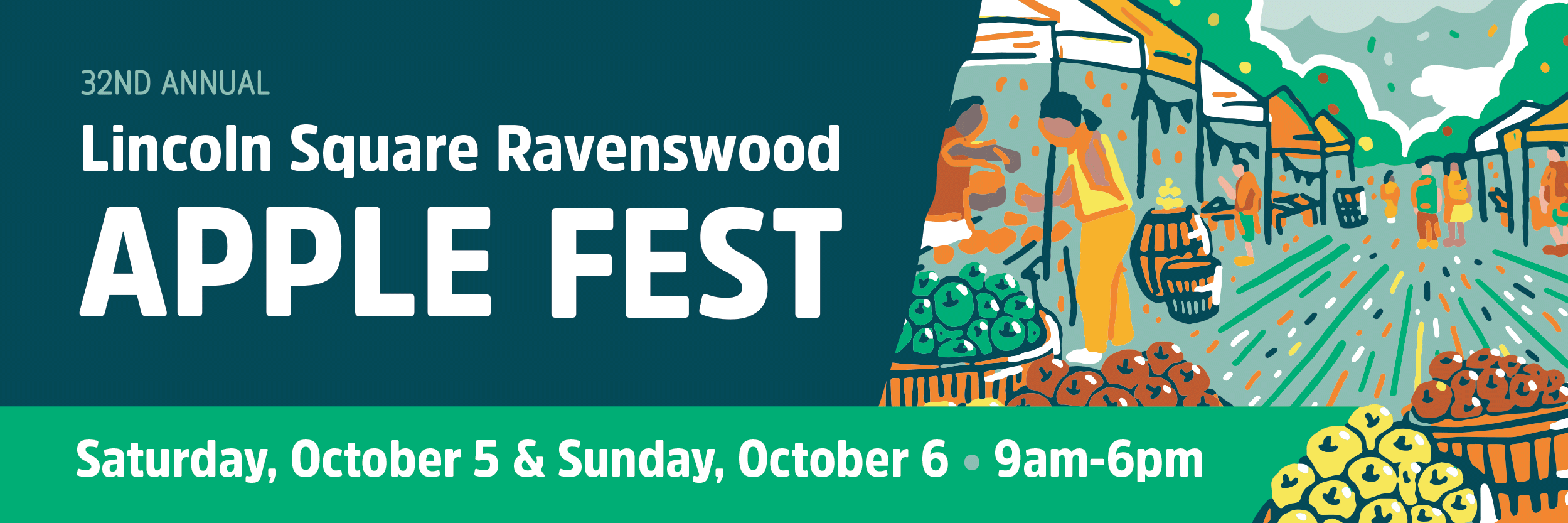 Apple Fest Lincoln Square Ravenswood