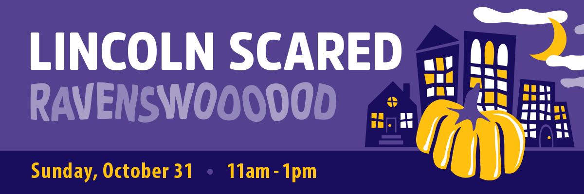 Halloween Happenings - Lincoln Scared