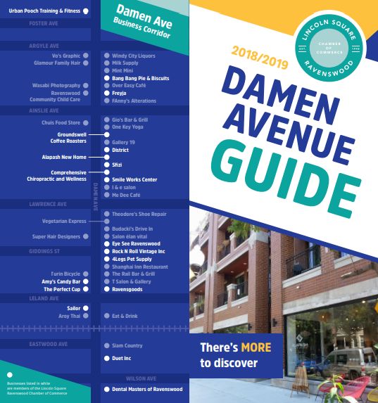 Damen Avenue Business Guide Sample