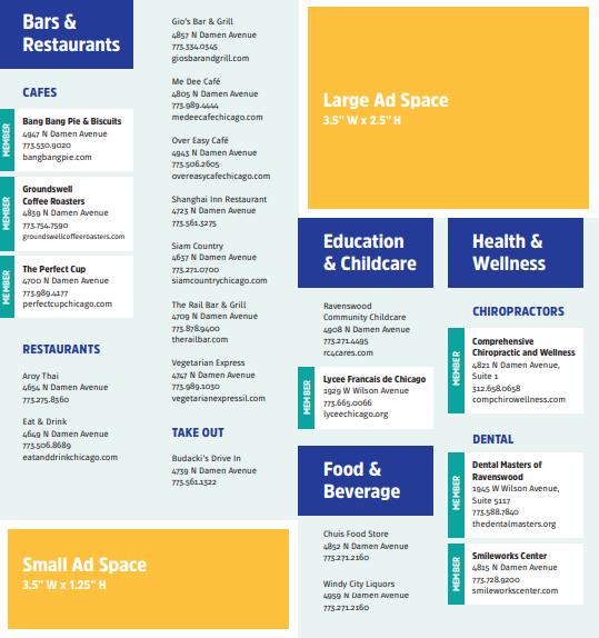 Damen Avenue Business Listing Sample