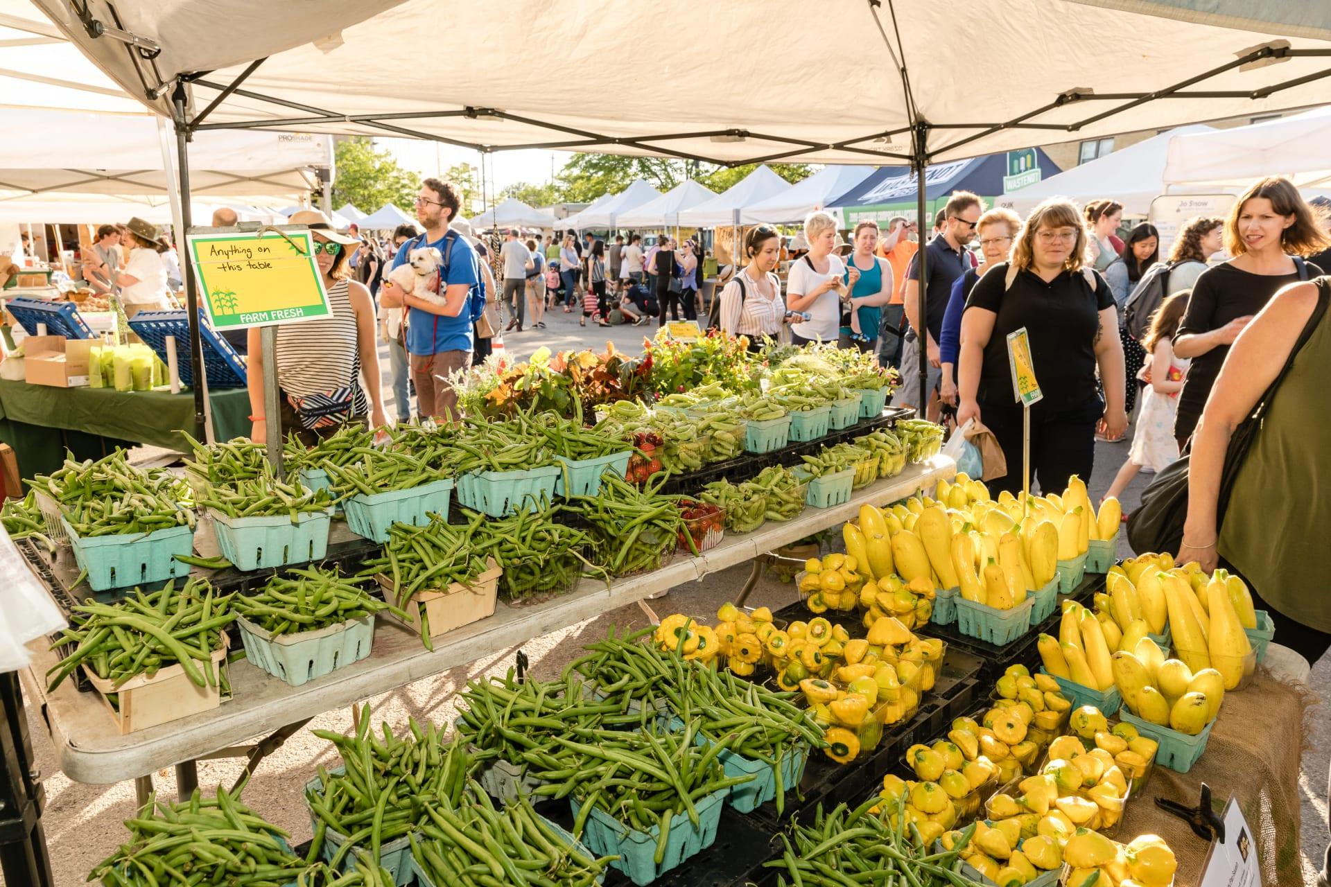 Lincoln Square Faremrs Market Produce