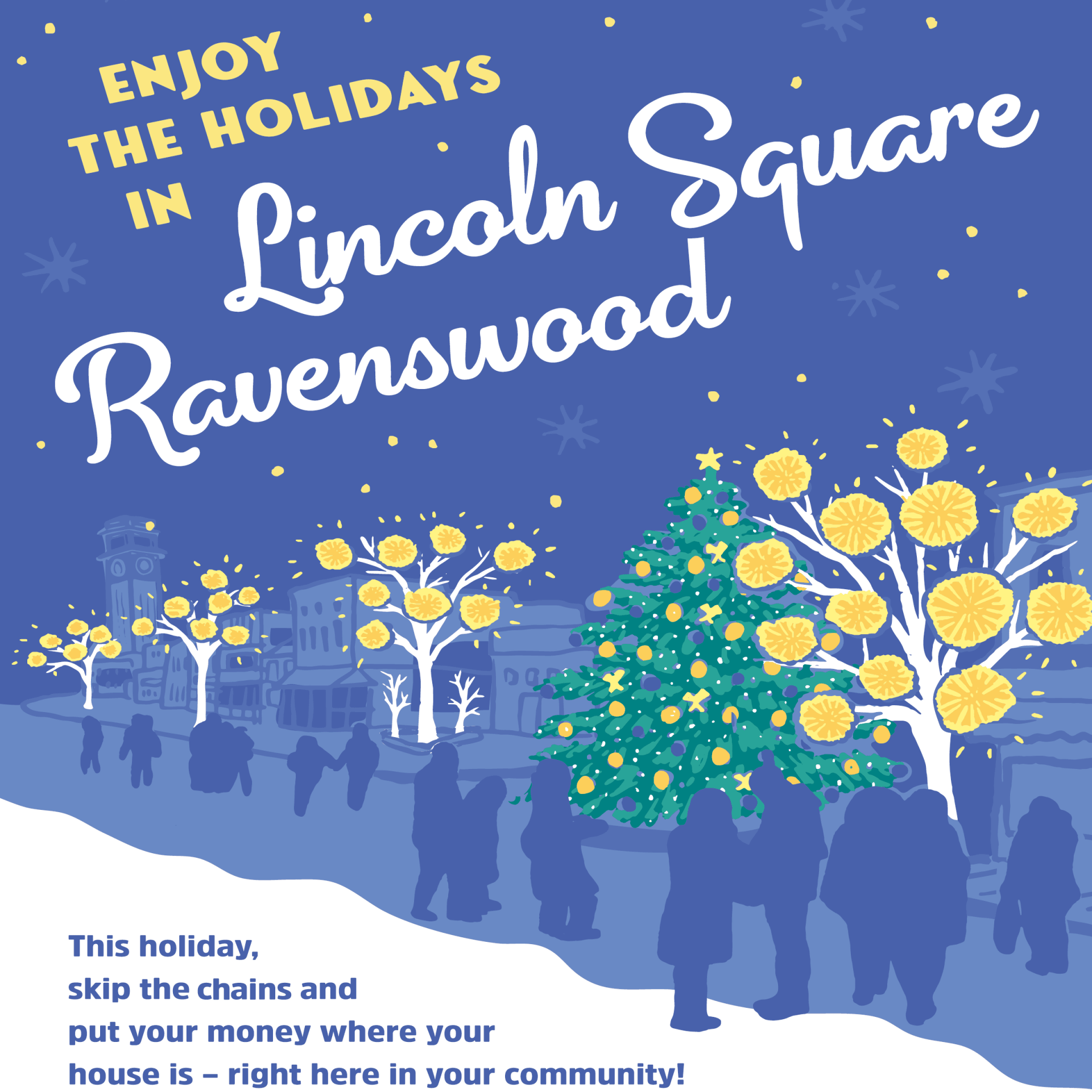 Holidays in Lincoln Square Ravenswoos