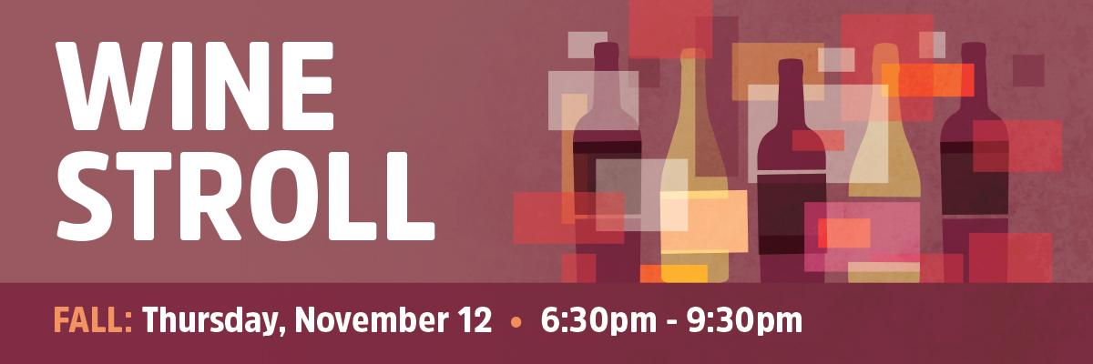 Fall Wine Stroll