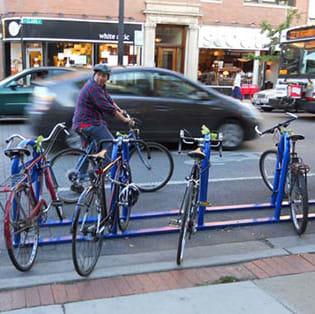 Chicago Department of Transportation Bike Parking
