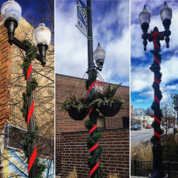 Lincoln Square Holiday Garland