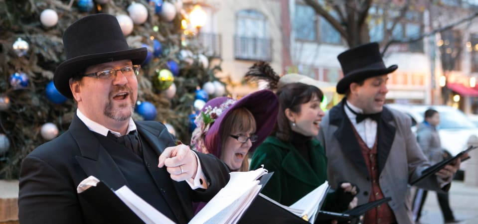 Small Business Saturday - Victorian Caroling