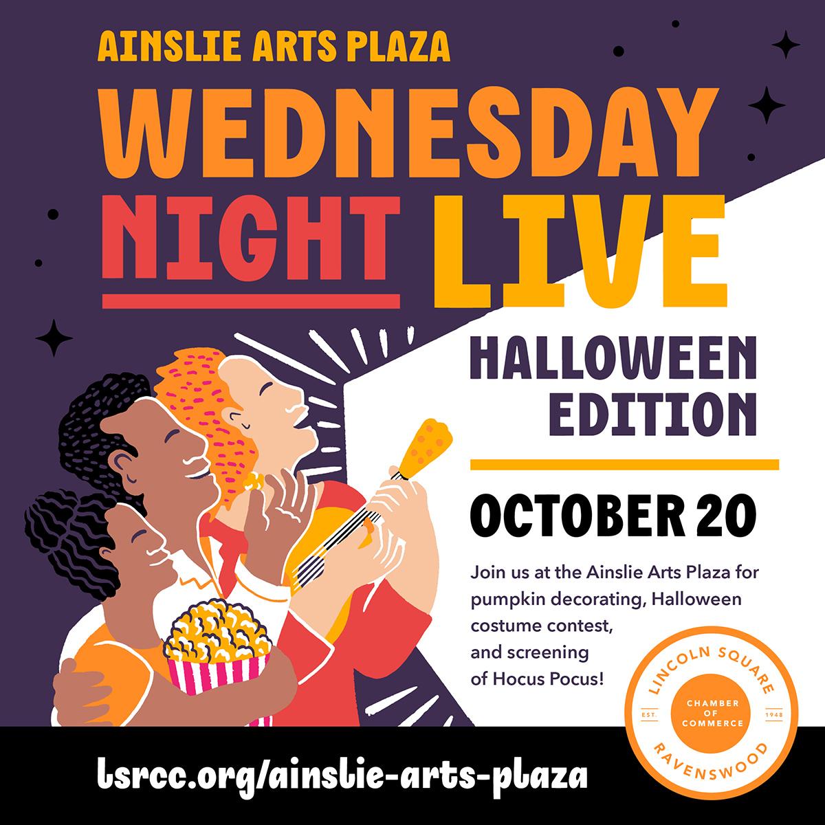Wednesday Night Live - Halloween Edition