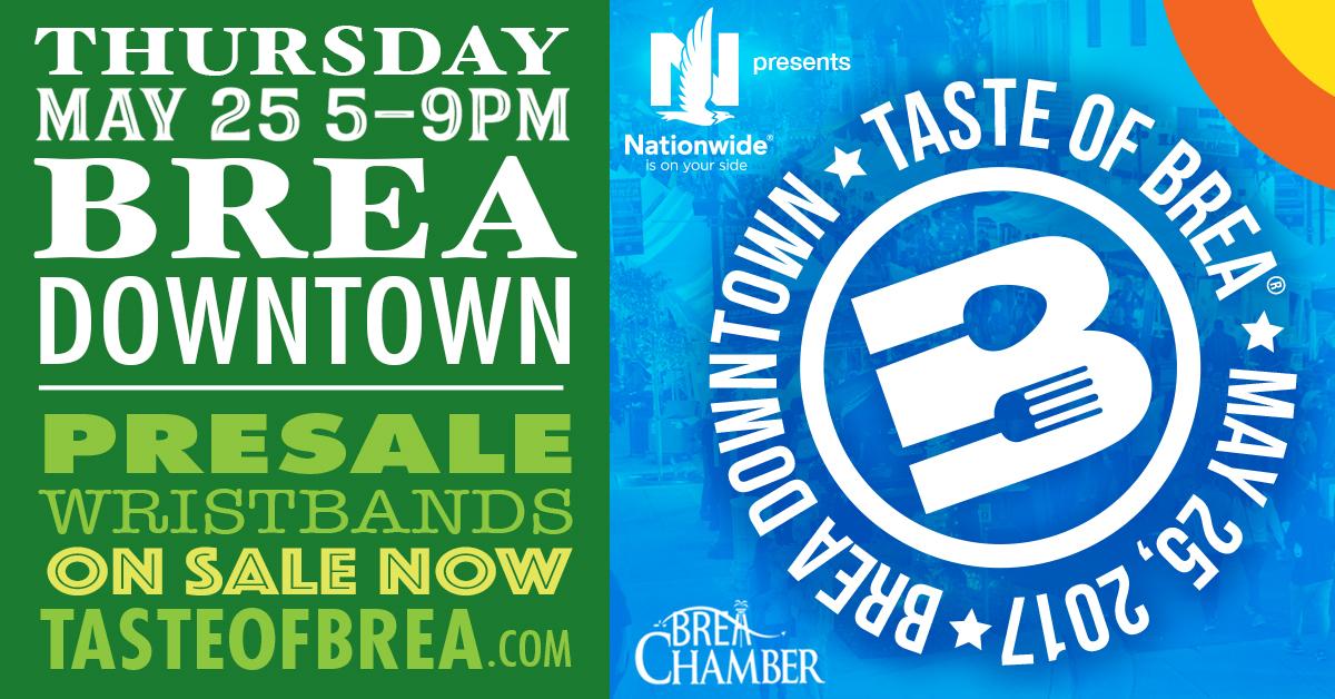 Taste Of Brea Brea Chamber Of Commerce Ca