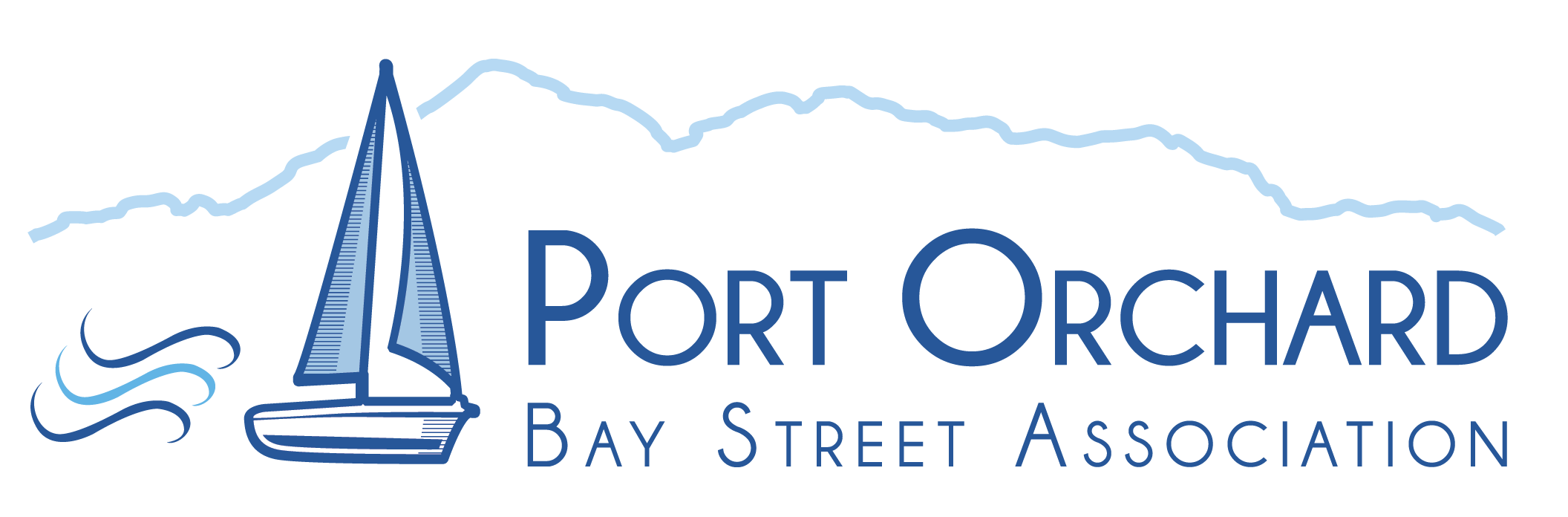 Port Orchard Bay Street Association Logo