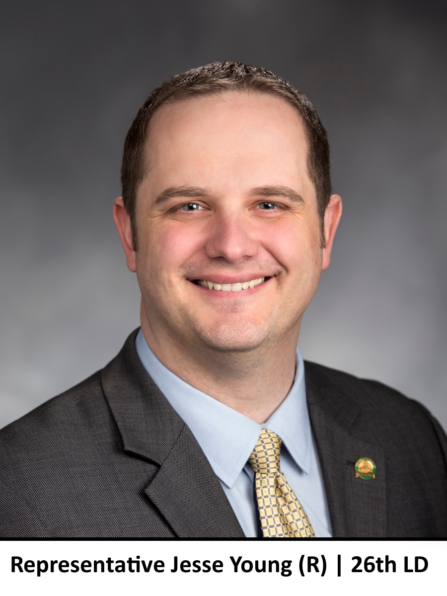 State Representative Jesse Young, 26th LD, R
