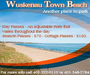 Wuskenau Town Beach Misquamicut