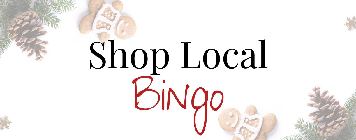 Georgina Shop Local Bingo