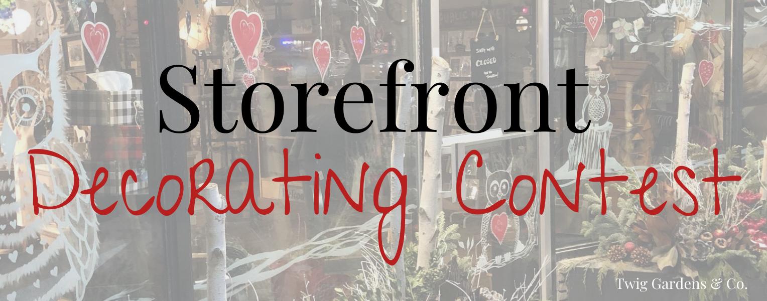 Storefront Georgina Decorating Contest