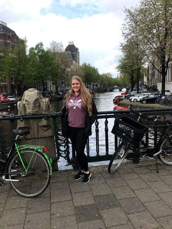 Taylor in Amsterdam, Netherlands
