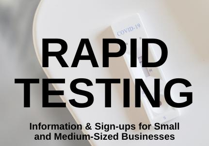 Georgina Small Business Rapid Testing
