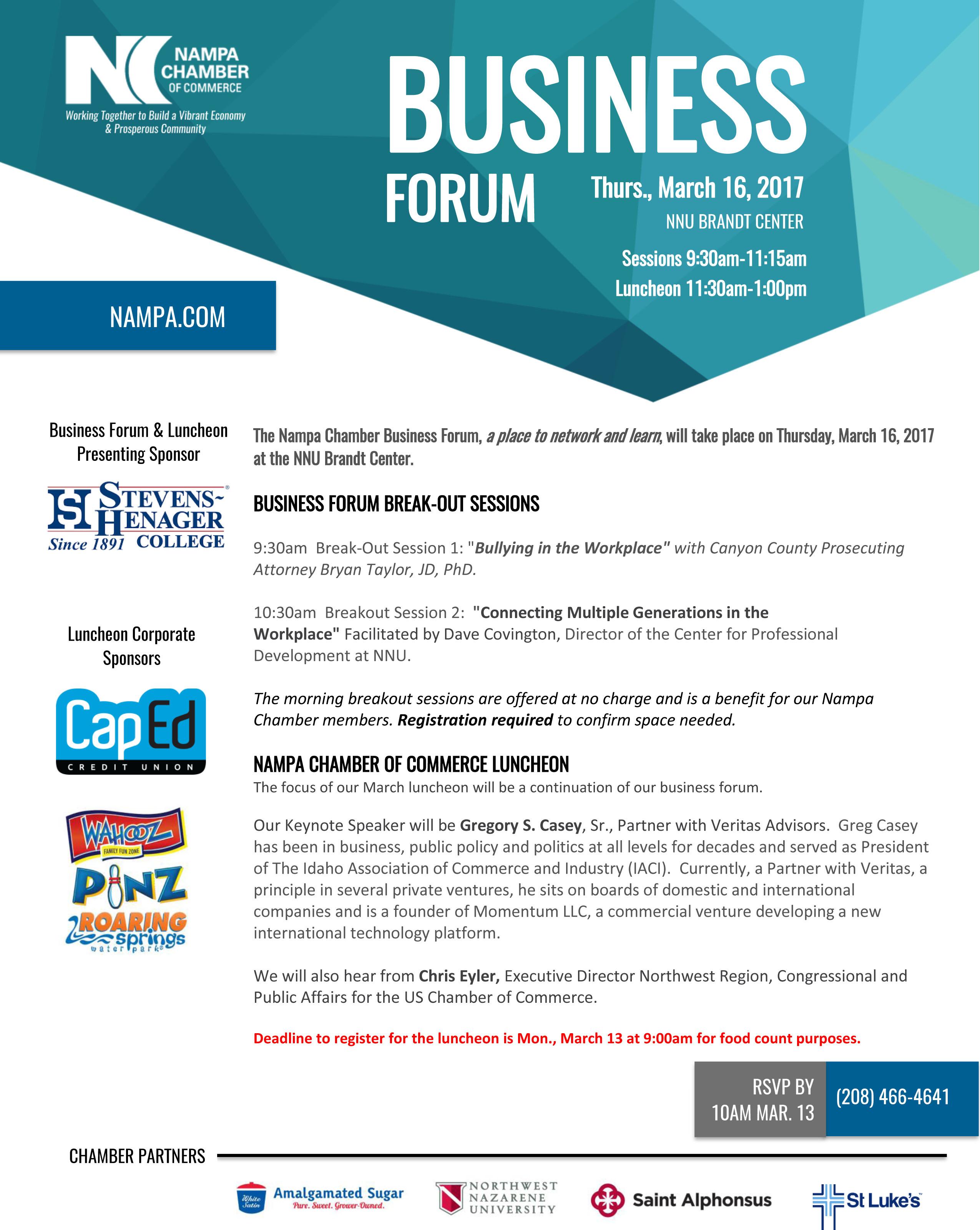2017 Business Forum