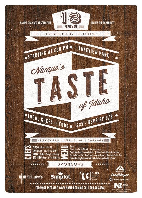 Nampa's Taste of Idaho 2016 - Presented by St. Luke's
