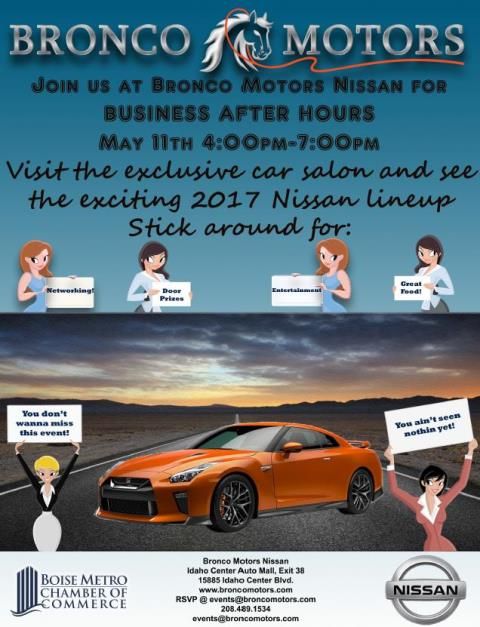 After Hours Bronco Motors Nissan May 11 2017 Nampa