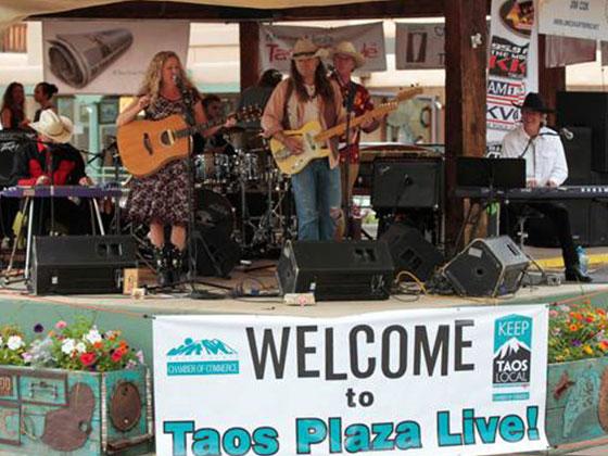 Taos Plaza Live!