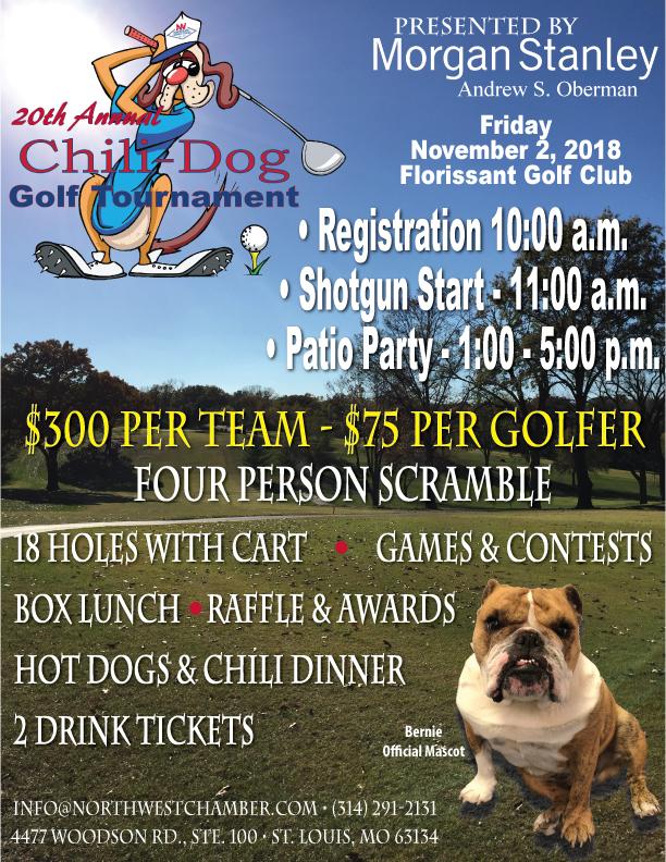 chili dog golf tournament nov 2 2018 northwest chamber of commerce
