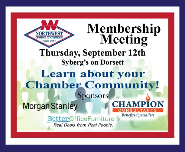 Membership Meeting - Sep 12, 2019 - Northwest Chamber of