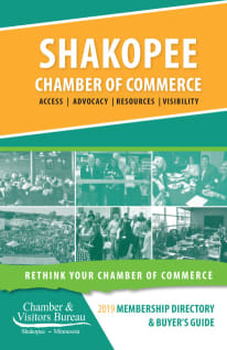 2019 Shakopee Chamber Membership Directory