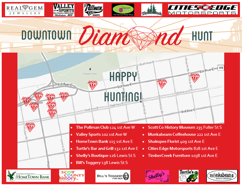 Download the 2015 Diamond Hunt Map!